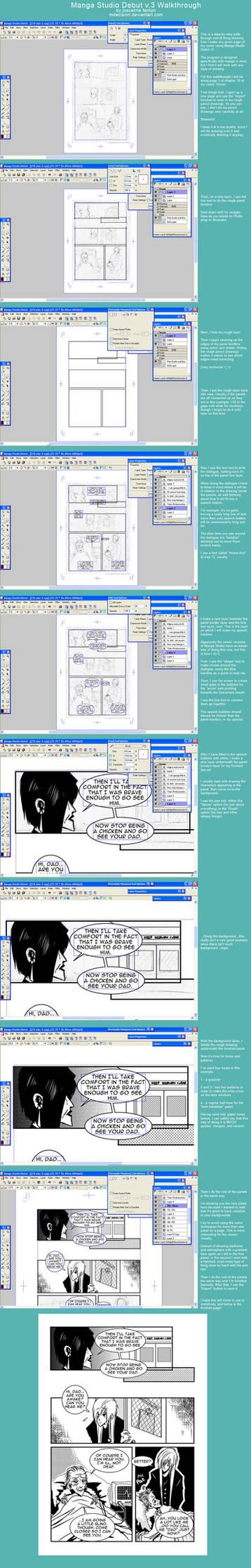 Manga Studio Walkthrough by mildtarantula