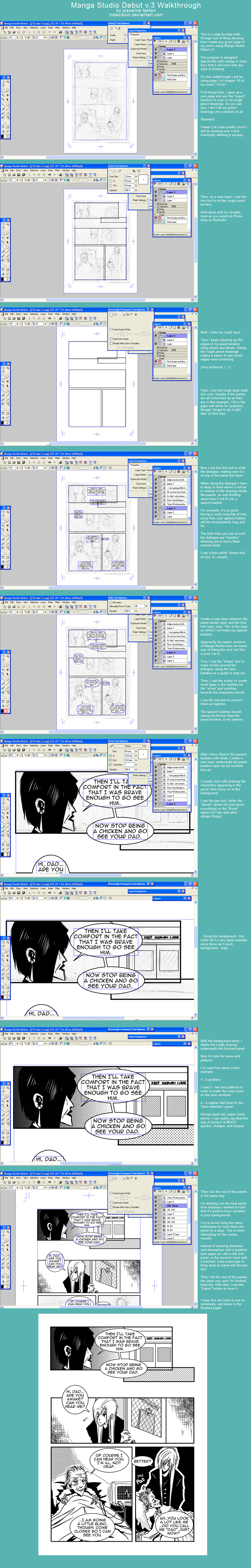 Manga Studio Walkthrough by mildtarantula