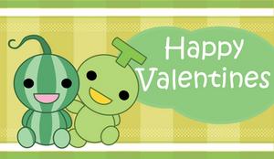Valentine card: Melons by anonimus-kyreii