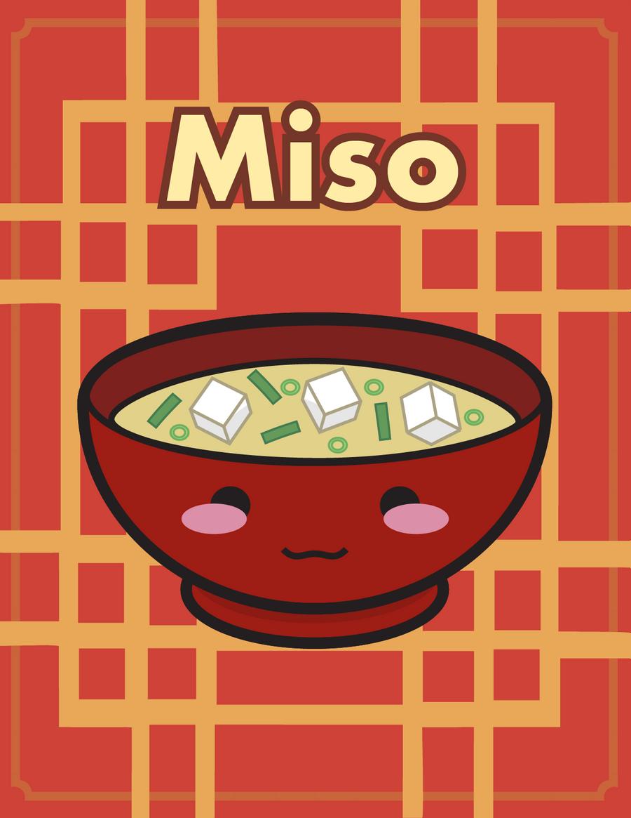 Kawaii Miso Soup by anonimus-kyreii