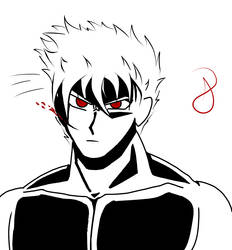 Black, White and Red like blood by AlphaDarkBoy21