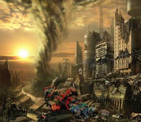 End of the World War by Dark-Jello