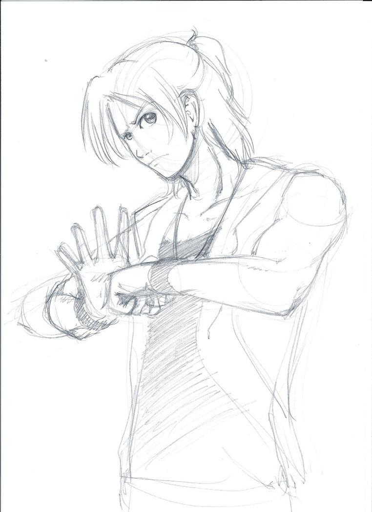 Daimon Masaru Sketch by YukariTheRondinel