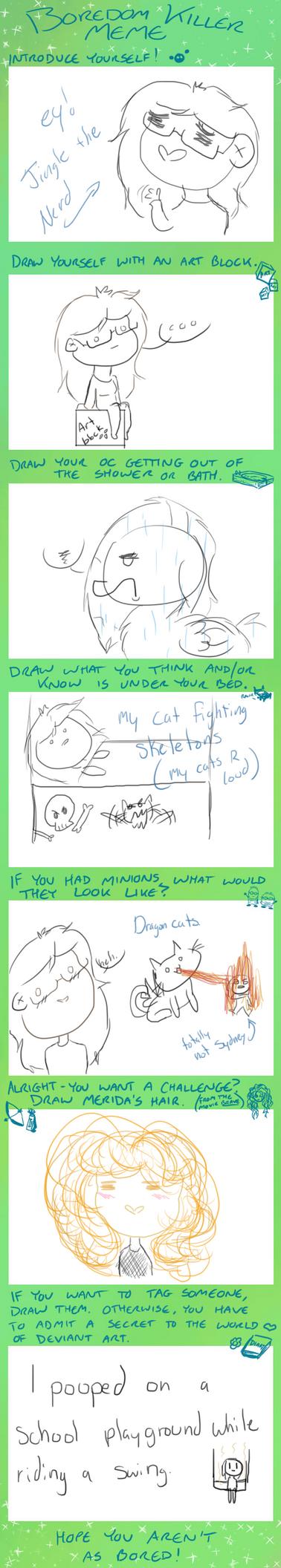 Boredom Meme thing by kittyGLaD