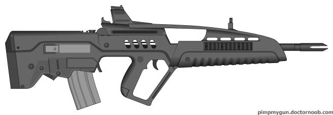 XM8 A2 Bullpup by Gods...