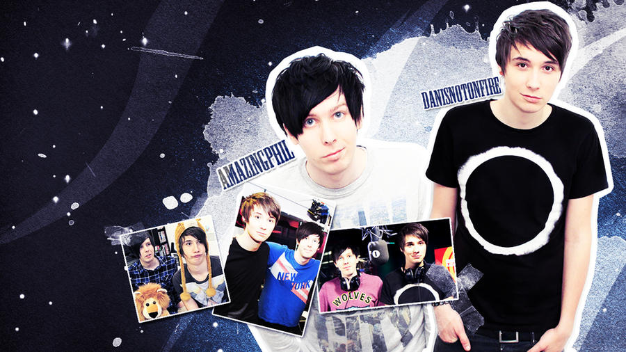Dan And Phil Wallpaper By Liskeke