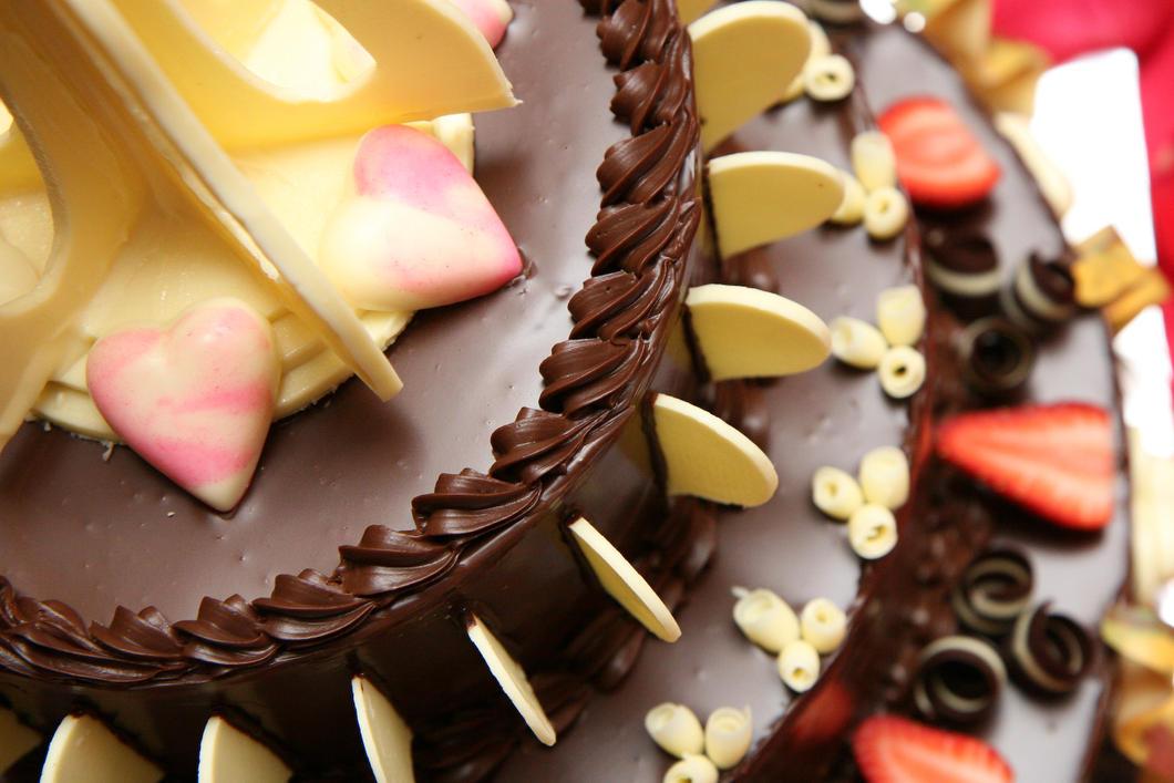 Chocolate Wedding Cake by otaru23