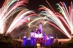 Disney Fireworks Take 1