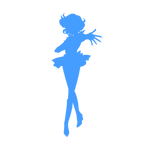 Sailor Mercury Silhouette