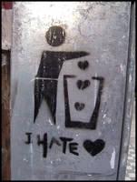 I hate Love by Akreatos