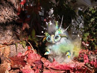Baby Static Dragon Expores by shadowcat9279