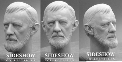 Alec Guinness Head Sculpt