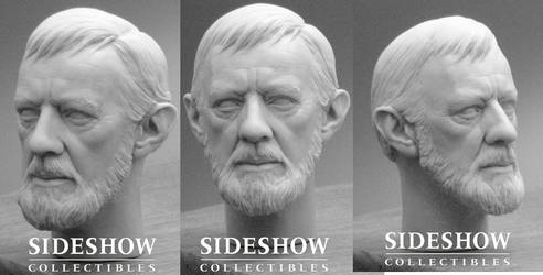 Alec Guinness Head Sculpt
