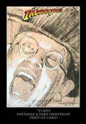 Sketch Card-Indiana Jones 4