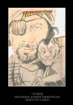 Sketch Card-Indiana Jones 45