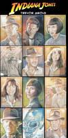 Indy 4 Sketchcards
