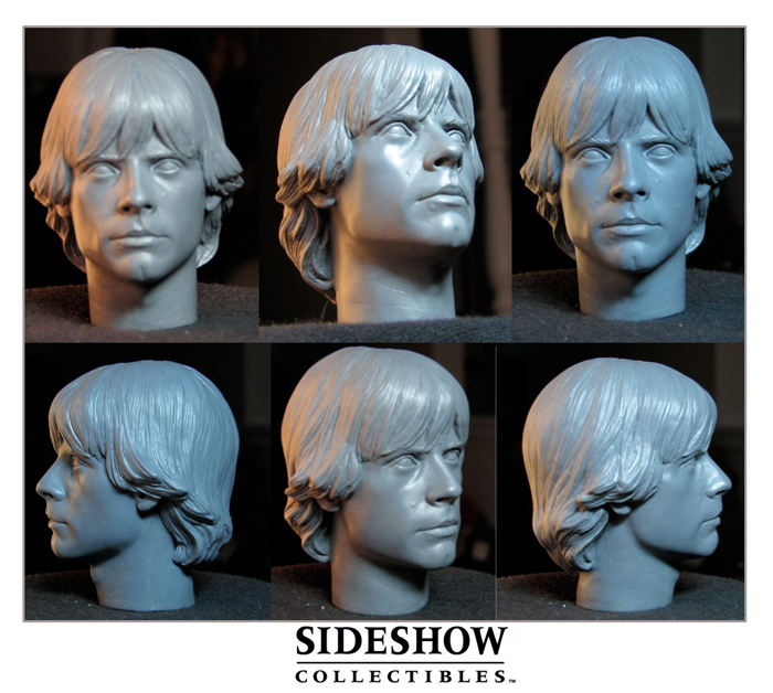 Luke Skywalker Headsculpt by TrevorGrove