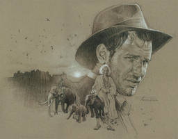 IndianaJones-Fortune and Glory by TrevorGrove