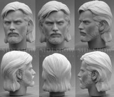 McGregor Kenobi sculpt by TrevorGrove