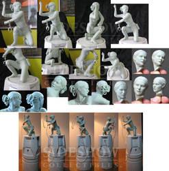 Star Wars Padme sculpt