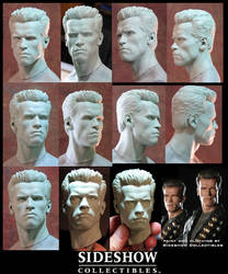 Sideshow Terminator Headsculpt by TrevorGrove