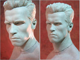Sideshow Terminator Head 2 by TrevorGrove