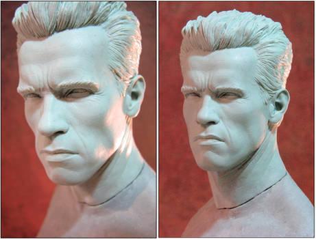 Sideshow Terminator Head 2