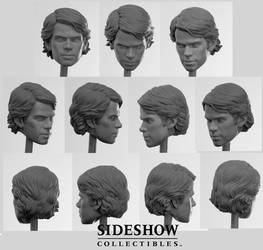 Clone Wars Anakin head