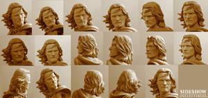Mini Aragorn headsculpt
