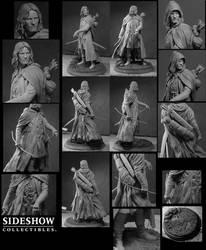 Aragorn as Strider by TrevorGrove