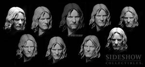 Aragorn as Strider portrait