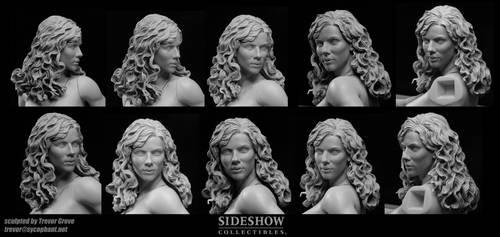 Black Widow Collage by TrevorGrove