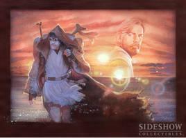 Ben Kenobi Desert Outlander Art