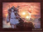 Ben Kenobi Desert Outlander Art by TrevorGrove