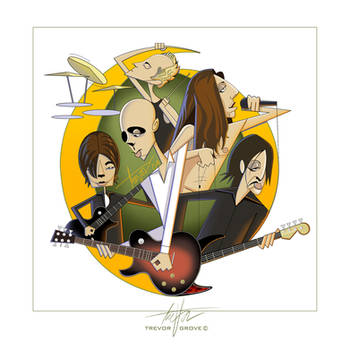 A Perfect Circle Caricatures