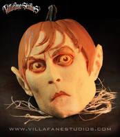 Johnny Depp Barnabas Pumpkin by TrevorGrove