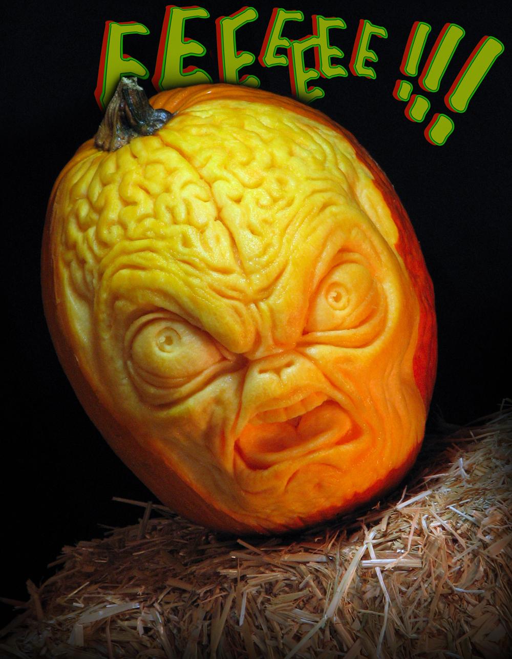 Alien Pumpkin by TrevorGrove