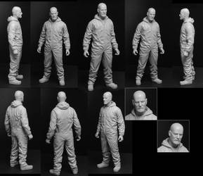 Breaking Bad Walter 6 Inch Figure by TrevorGrove