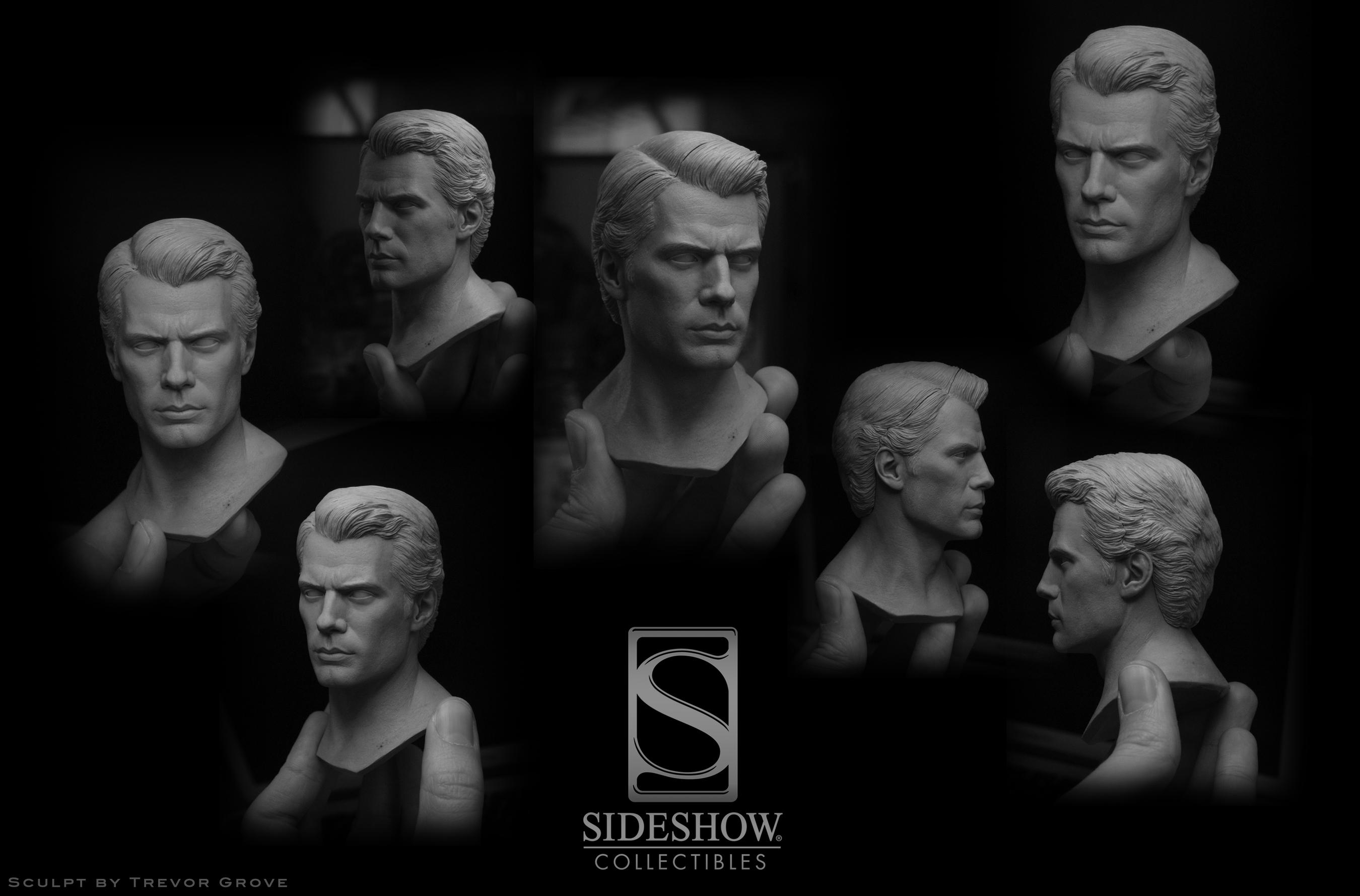 MAN OF STEEL SUPERMAN PREMIUM FORMAT FIGURE Man_of_steel_by_trevorgrove-d68ohmr