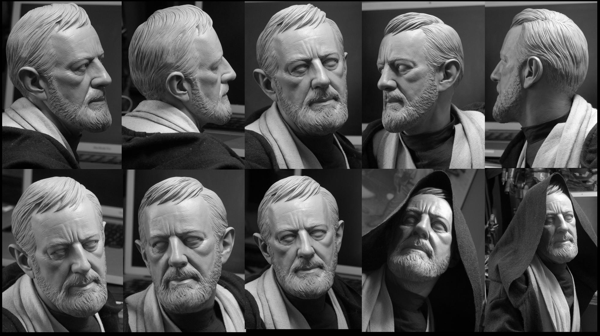 1:2 Scale Ben Kenobi by TrevorGrove