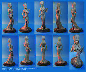 Elvira Statue by TrevorGrove