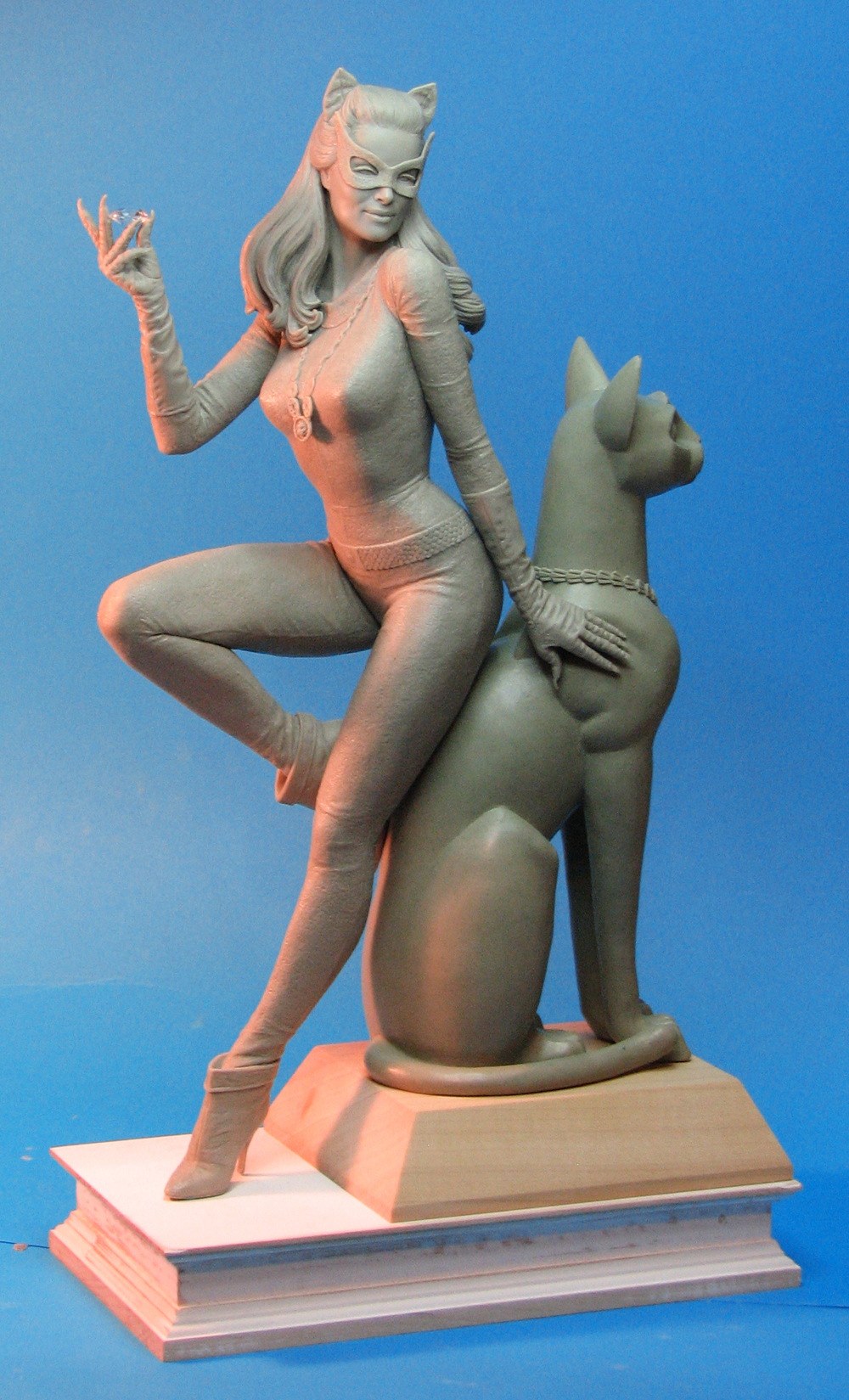 Catwoman '66 Maquette by TrevorGrove