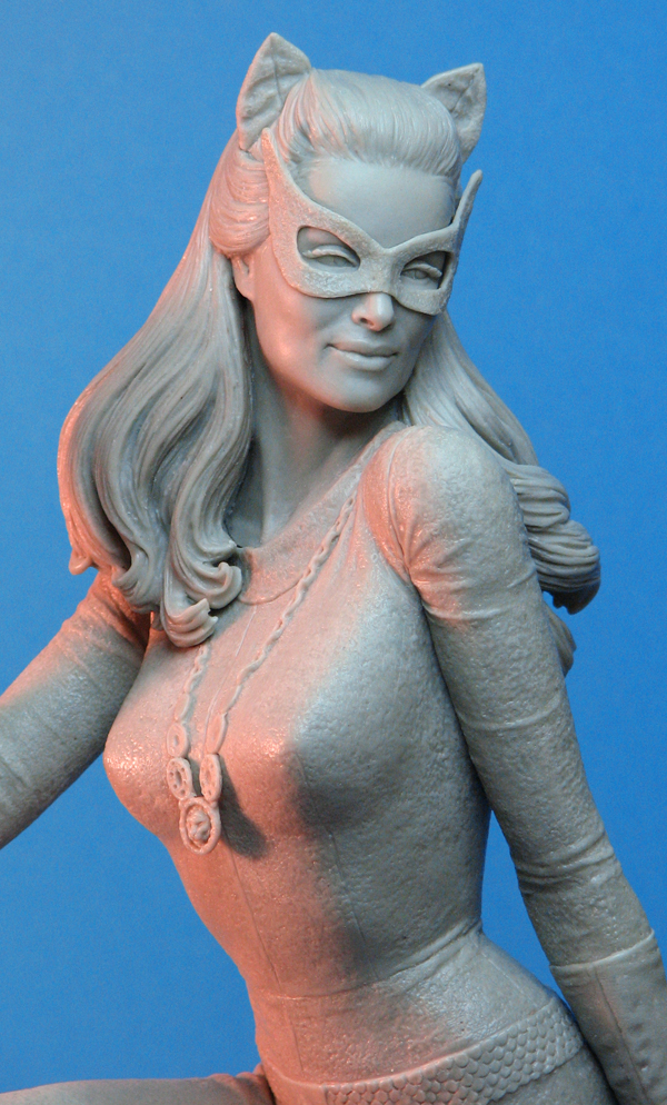 Catwoman '66 Maquette closeup by TrevorGrove