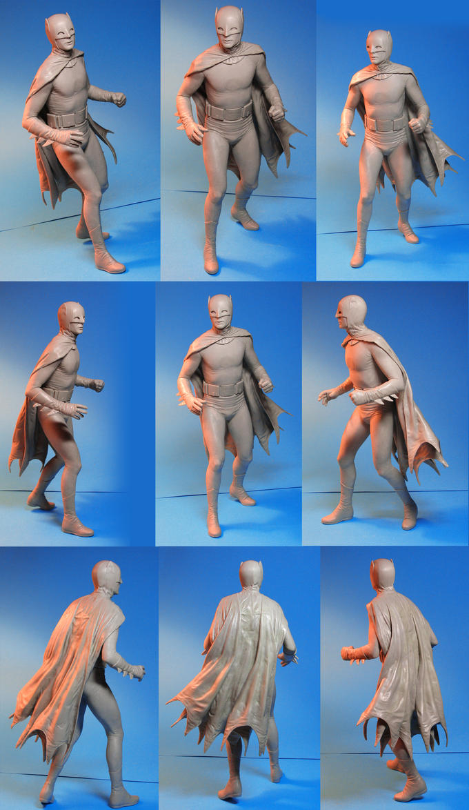 Tweeterhead Batman Maquette by TrevorGrove