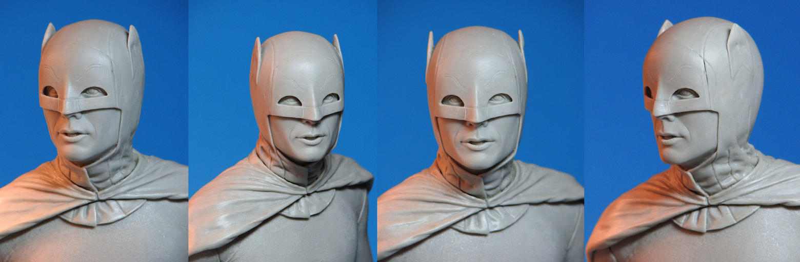 Tweeterhead Batman headsculpt by TrevorGrove