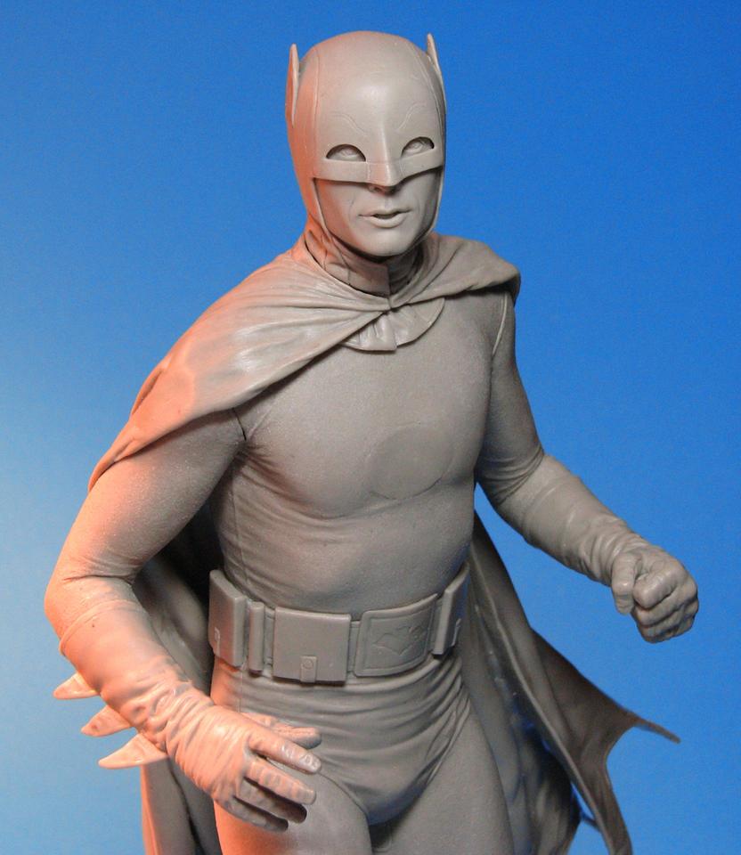 Tweeterhead Batman Maquette Closeup by TrevorGrove