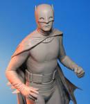 Tweeterhead Batman Maquette Closeup