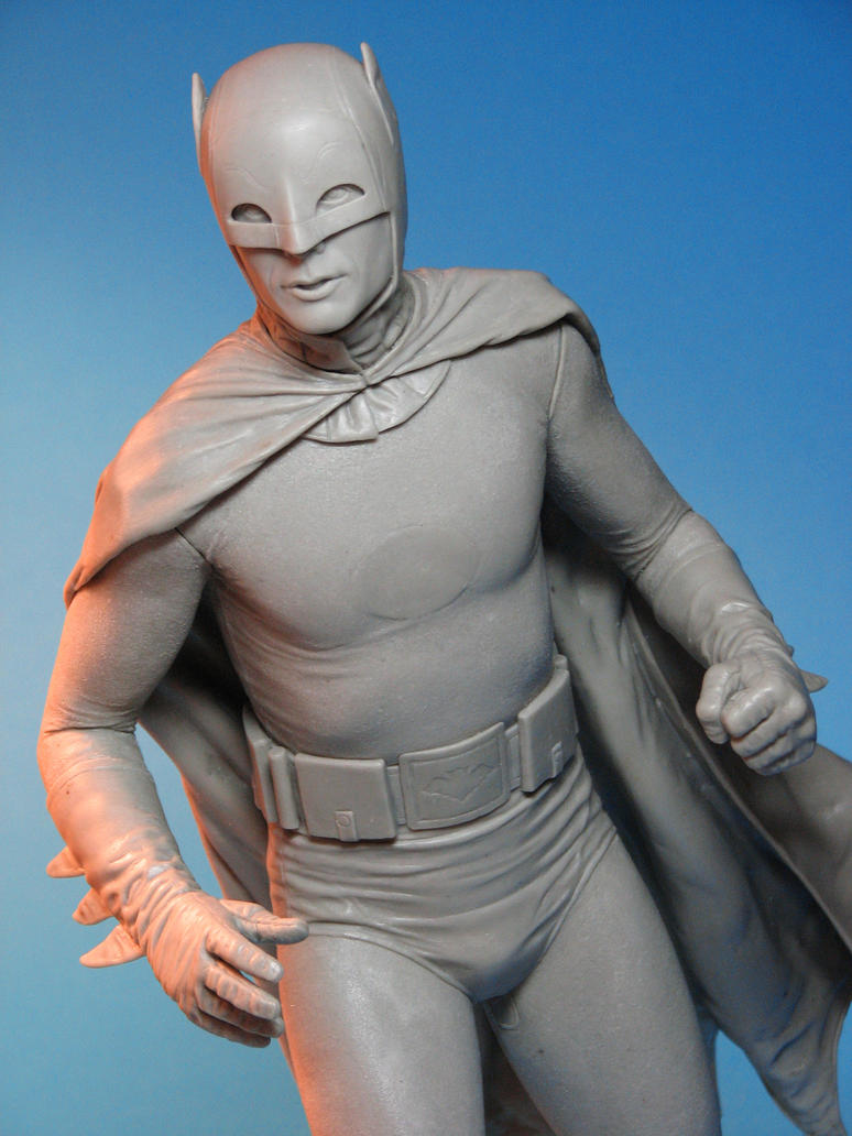 Tweeterhead Batman Maquette Closeup 2 by TrevorGrove
