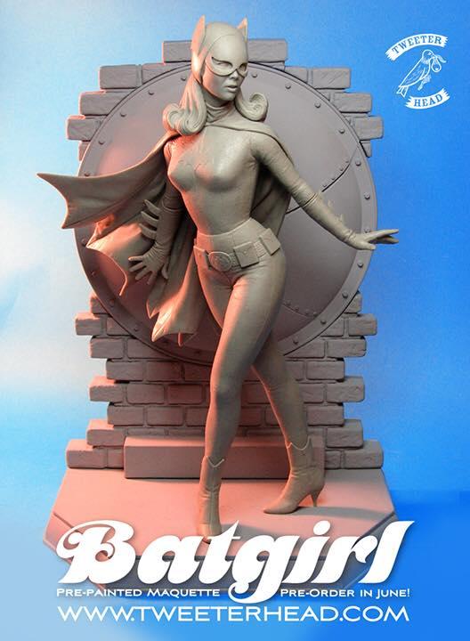 Tweeterhead Batgirl Maquette by TrevorGrove