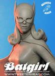 Tweeterhead Batgirl Maquette closeup